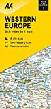 Road Map Western Europe (Road Map Europe, Band 1)